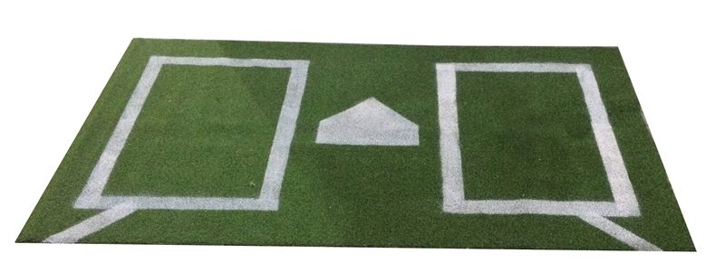 Batters Box Turf Rug For Room