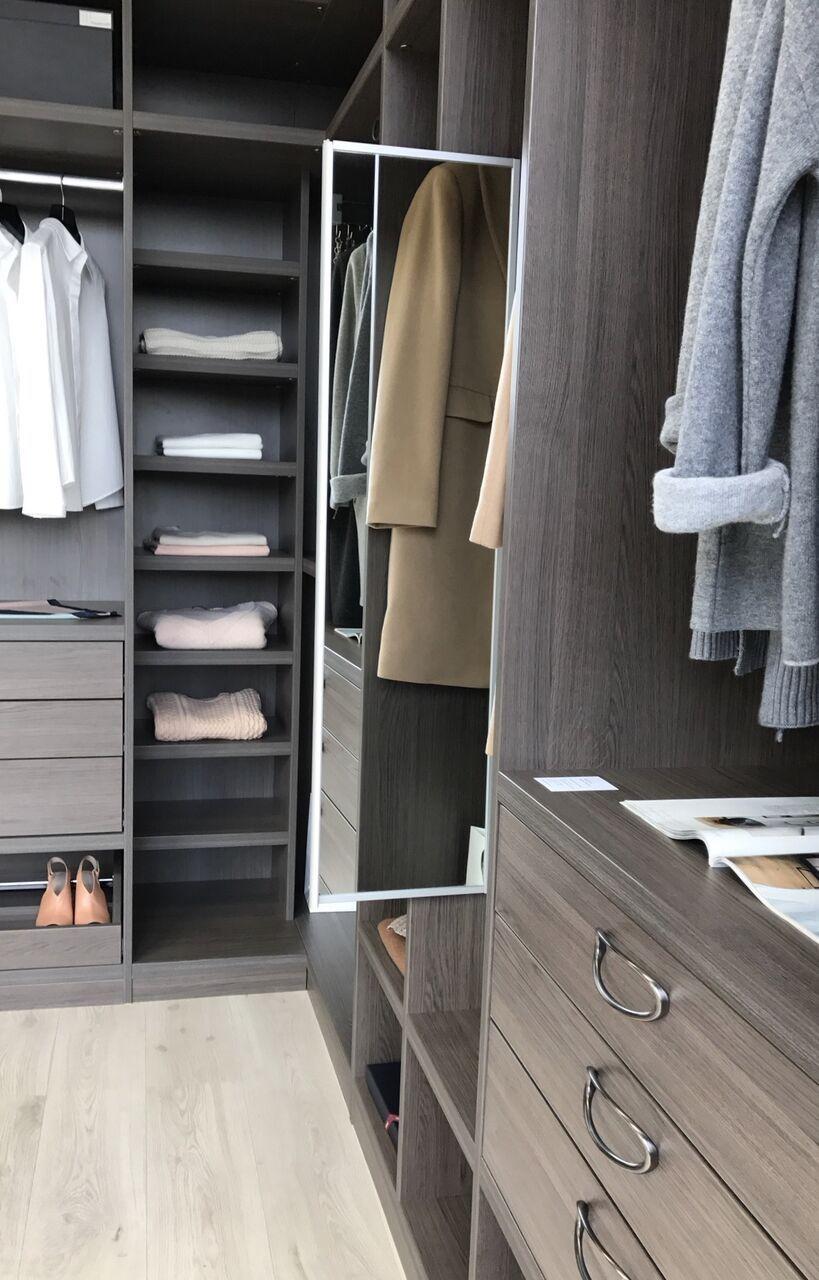 Neatsmith Walk In Wardrobe with Pull Out Mirror wardrobe bedroom