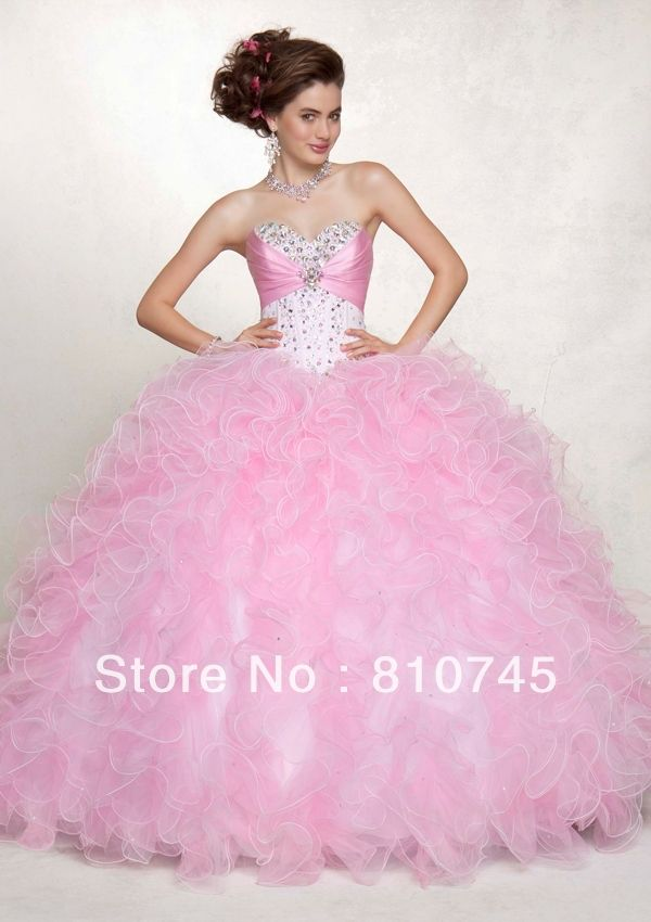 2013 Wholesale Georgeous Fashionable Strapless Evening Dress & Ball ...
