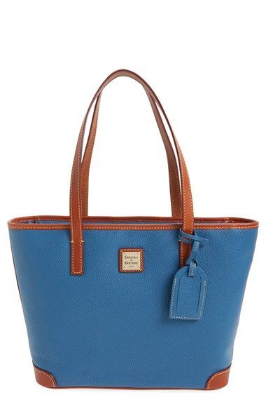 Dooney & Bourke 'Charleston - Pebble Grain Collection' Water Resistant Tumbled Leather Shopper