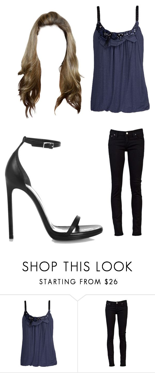 """""""Untitled #7868"""" by iamdreamchaser ❤ liked on Polyvore featuring 6 Degrees, Nudie Jeans Co. and Yves Saint Laurent"""