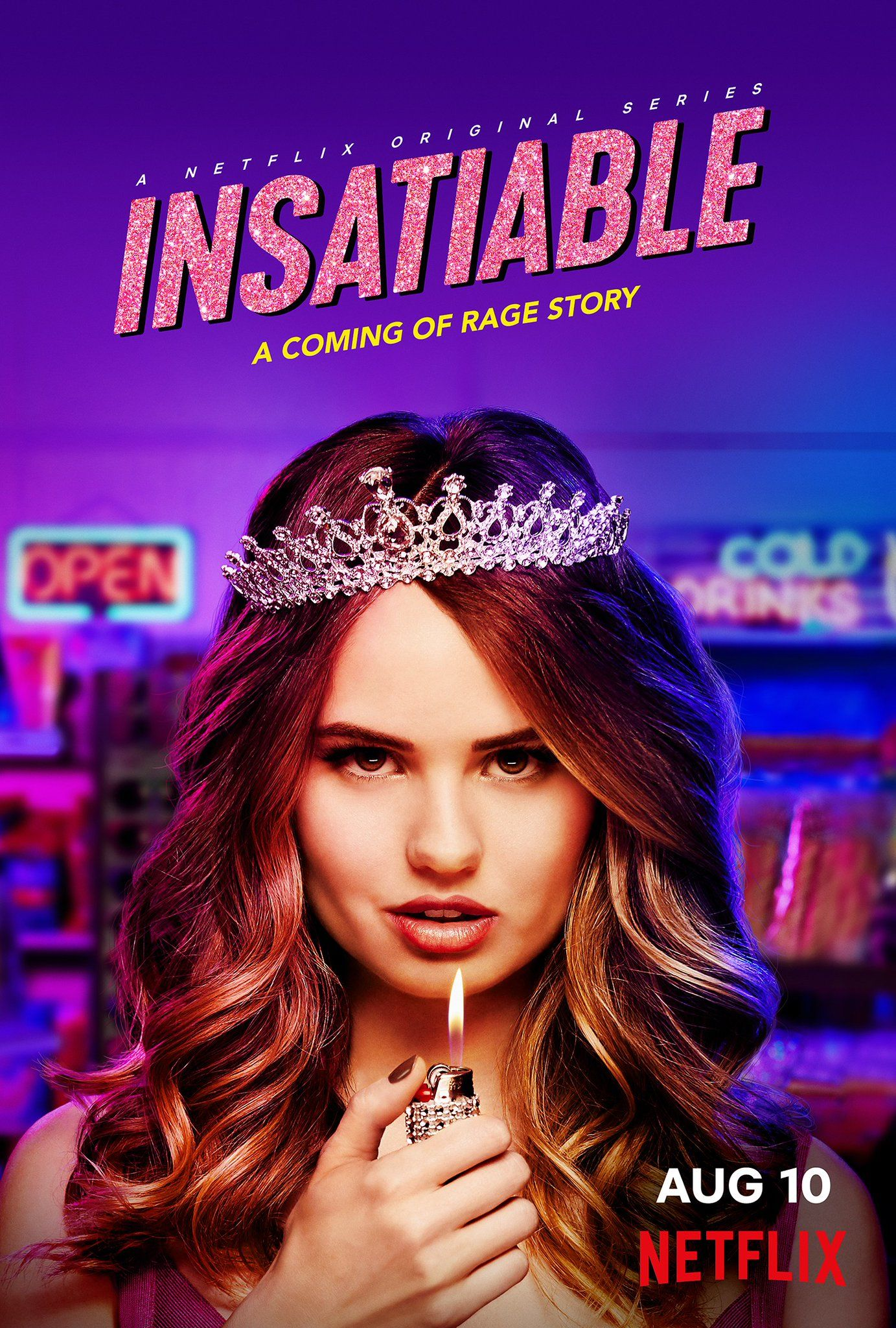 Insatiable is an American black comedydrama web