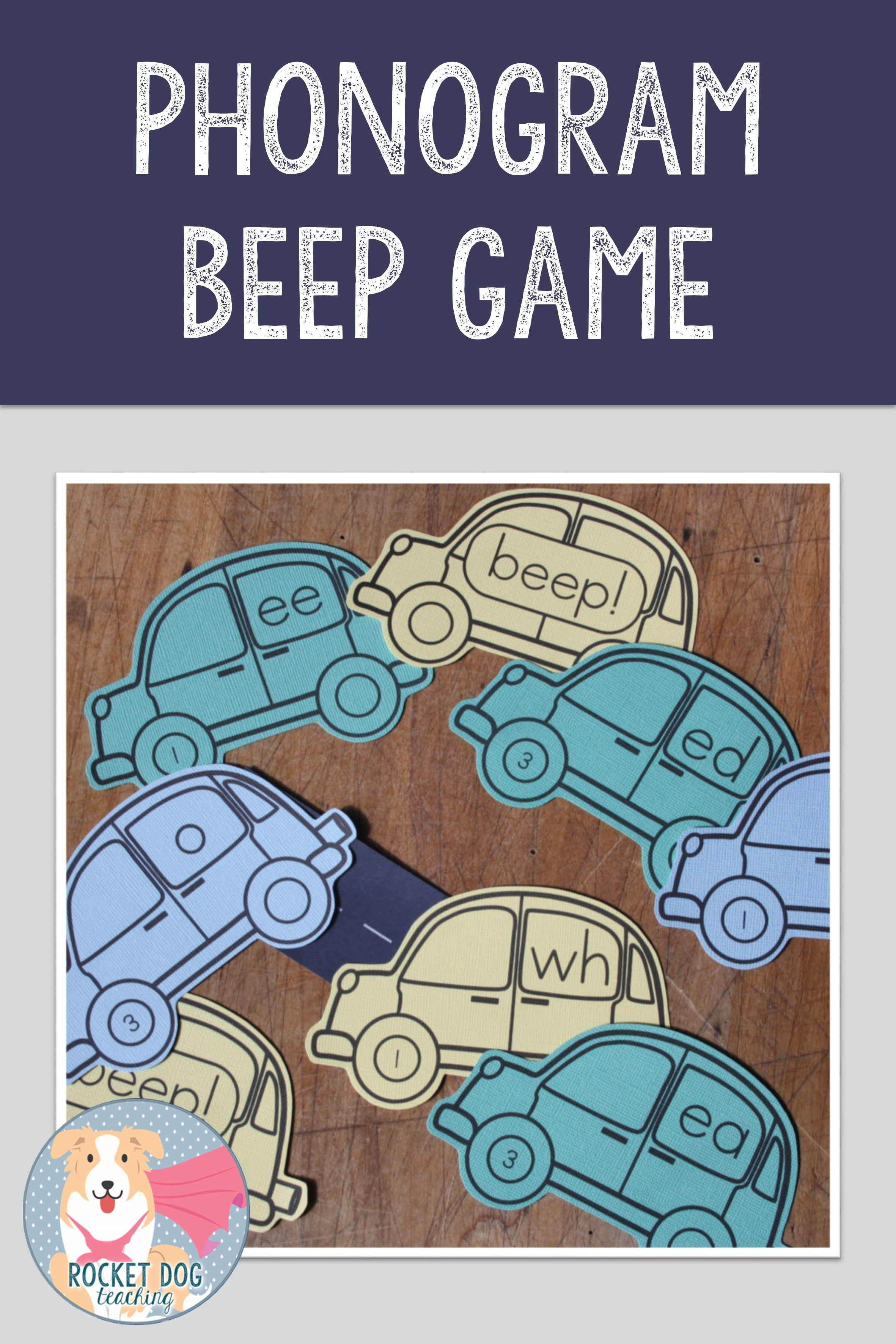 Phonogram Game Beep Game With Images