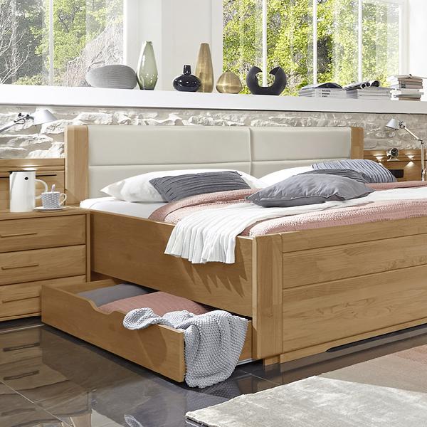 Doppelbett Mit Schubladen In Erle Teilmassiv Narita Doppelbett Haus Deko Schlafzimmer Inspiration