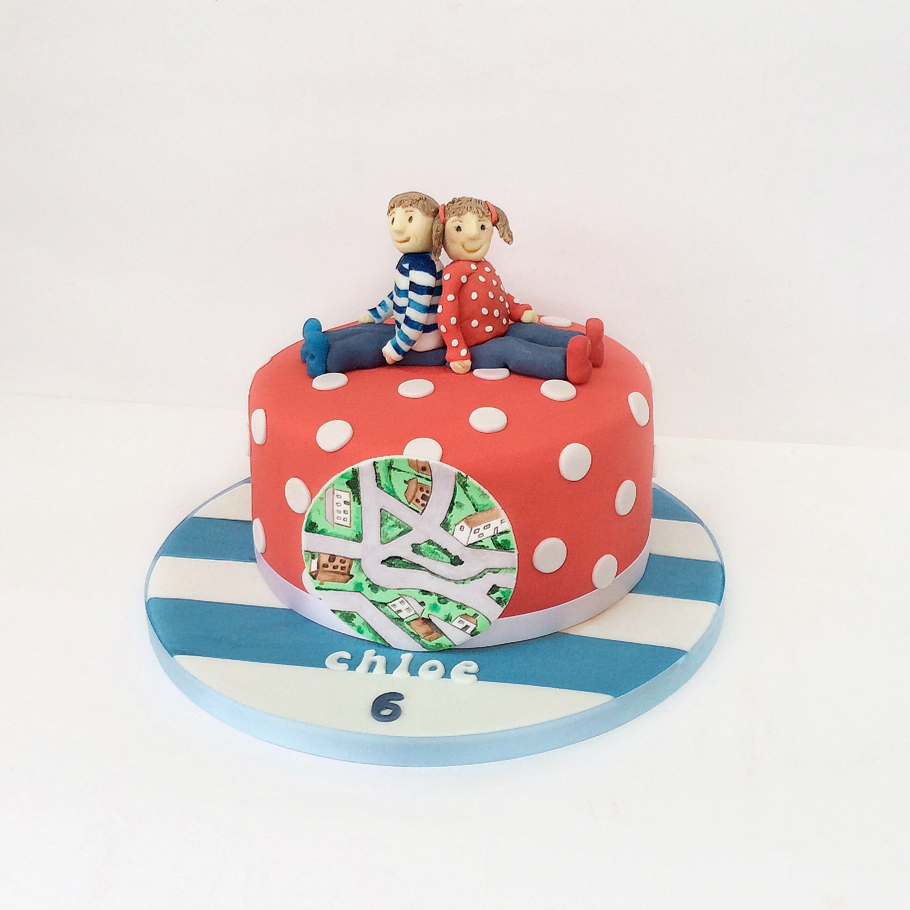 Topsy And Tim Cake Averys 2nd Bday Pinterest Cake And