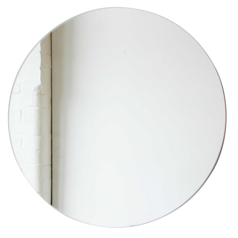 Alguacil Perkoff Ltd Wall Mirror Orbis Round Frameless X