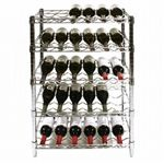 SI Chrome Wire Wine Rack Kits