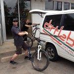 3M Scotchguard Paint Protection Film with bike racks