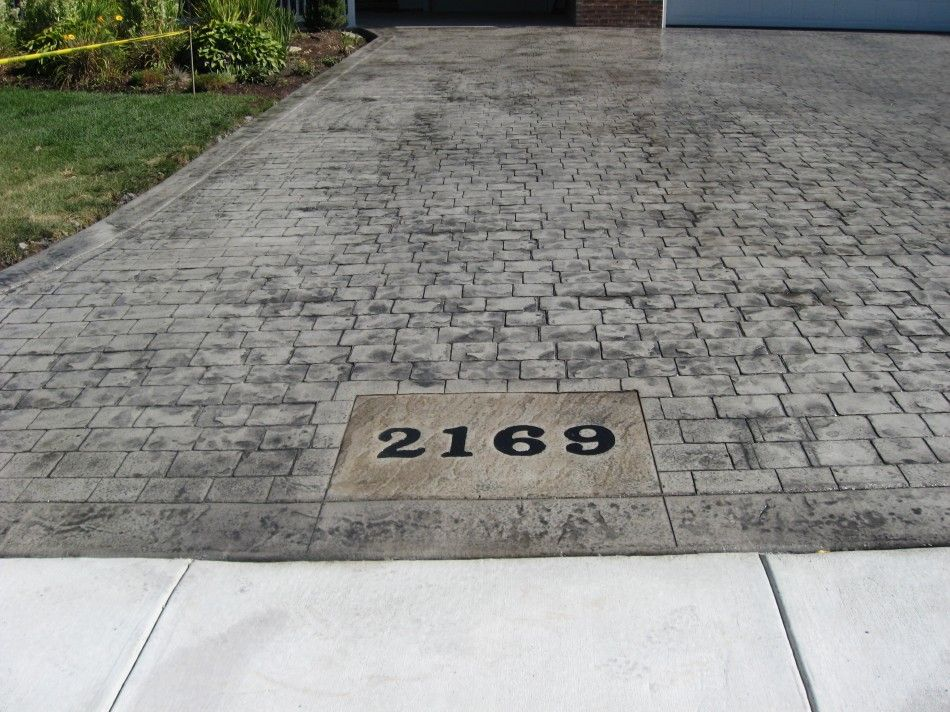 Creative Way To Add Your House Number On The Curb. DIY At Cfa Online ·  Driveway LandscapingDriveway DesignGravel ...