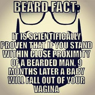 Elegant So Please Stay The Hell Away From Men With Beards #funny #quote #pregnant