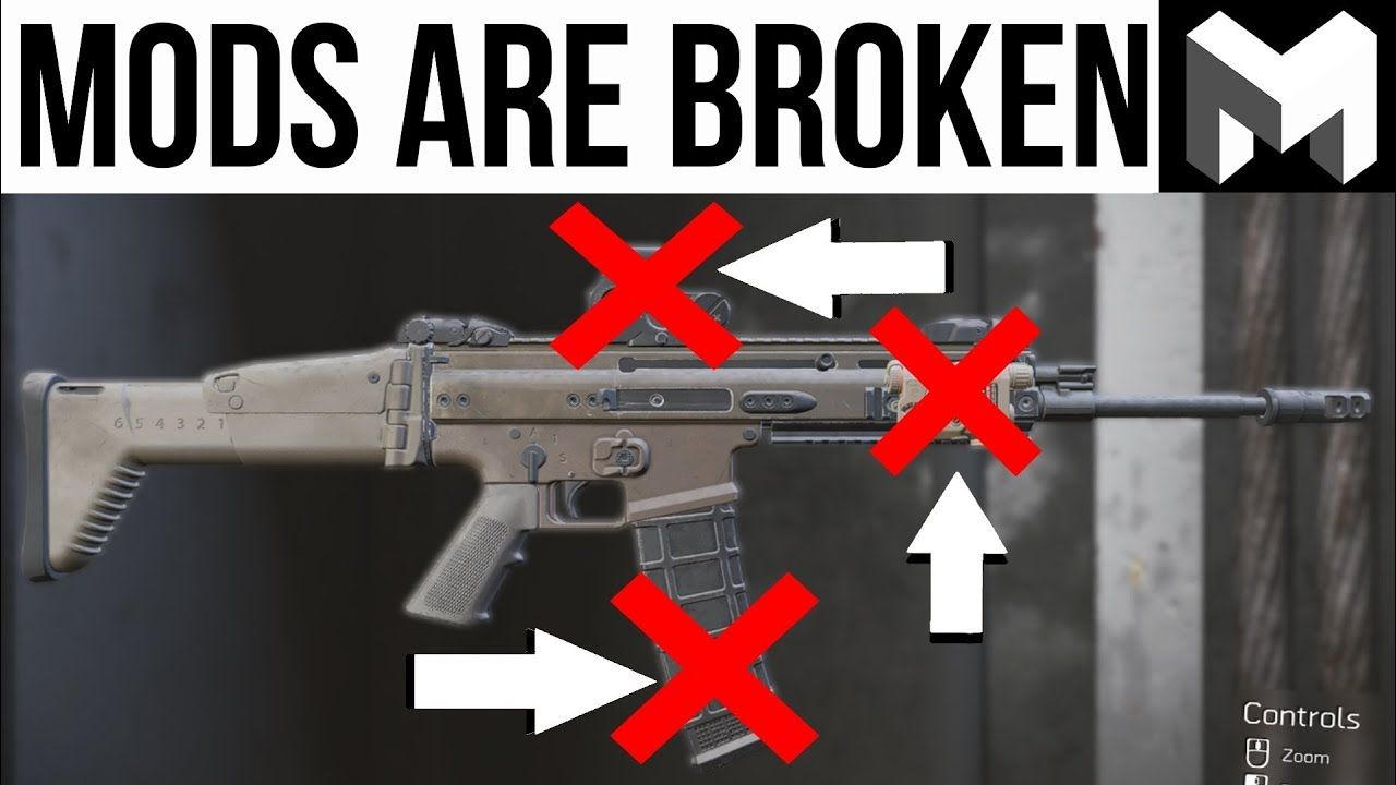 The Division 2 Weapon Mods are Broken Right Now: | Games in
