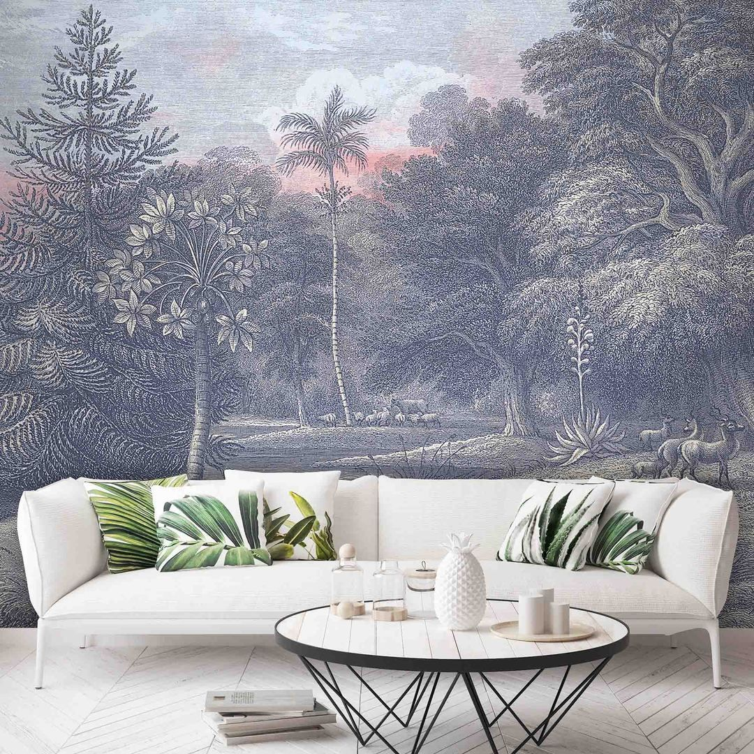 Sunrise Wall Mural in 2020 Wall murals, Sunrise