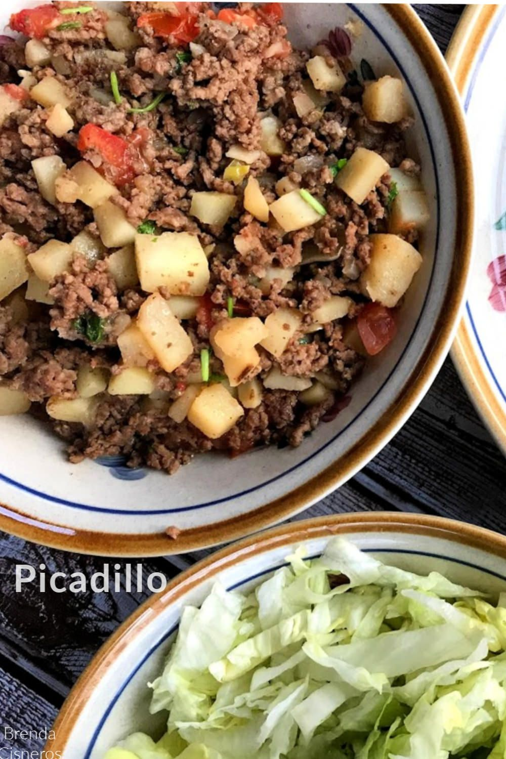 Mexican Picadillo Ground Beef Stew With Potatoes In 2020 Mexican Food Recipes Authentic Mexican Picadillo Ground Beef Stews