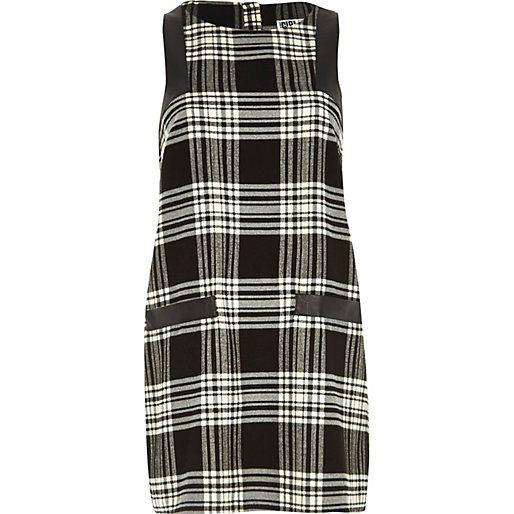 Black Chelsea Girl check print shift dress - shift dresses - dresses - women