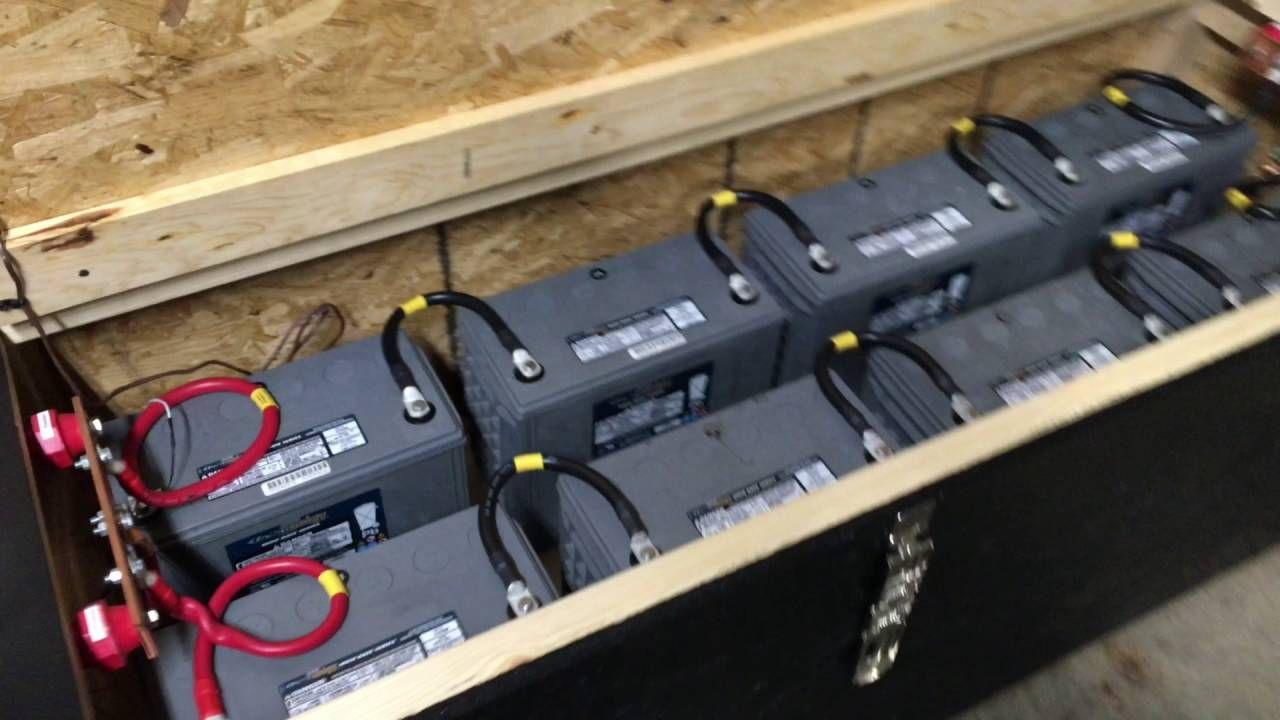 Aims 6000 Watt 48v Inverter And Battery Bank Whole Home