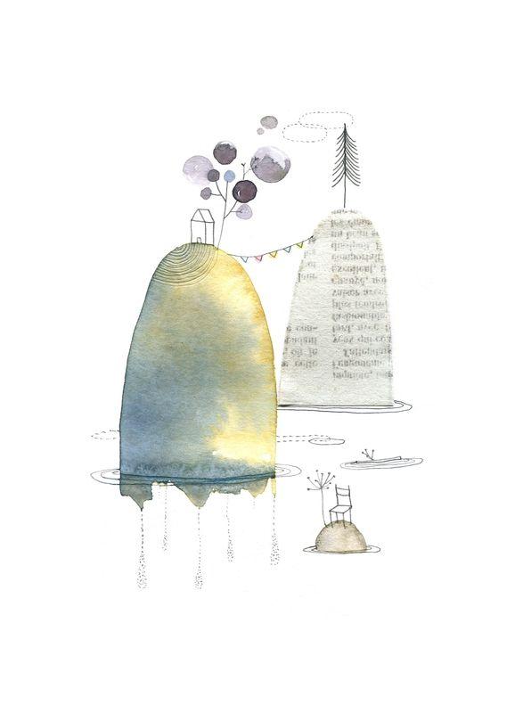 Cecile Hudrisier Avec Images Art Fantaisiste Aquarelle Et