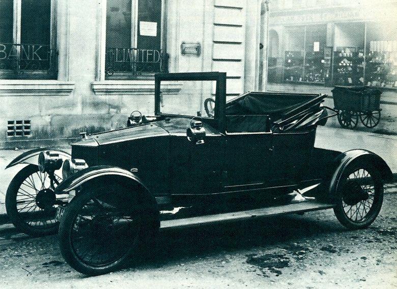 1914 Horstmann Coupe. Designed by Sydney Horstmann, who ran a garage ...