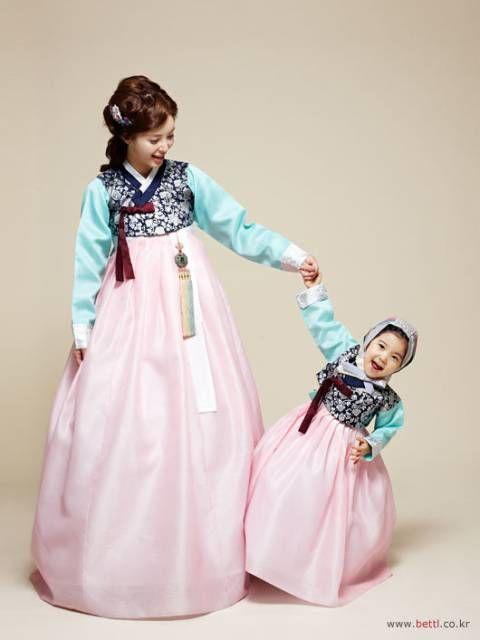 한복 Hanbok : Korean traditional clothes[dress] #ModernHanbok #birthday #baby #한복…