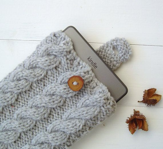Beginner Easy Knitting Pattern Kindle Case Kindle Cover Or Ipad Mini
