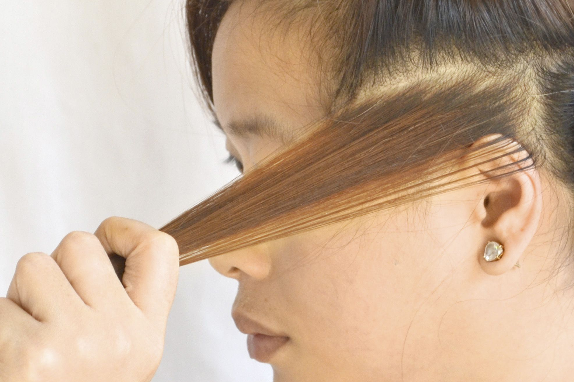 How to Do a Strand Test Before Dyeing Your Hair -- via wikiHow.com