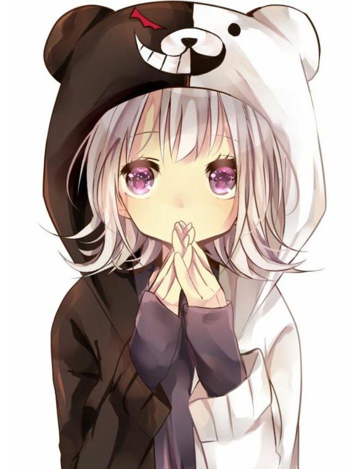 Anime Cute Hoodie : anime, hoodie, Kawaii, Anime, Hoodie, Wallpaper