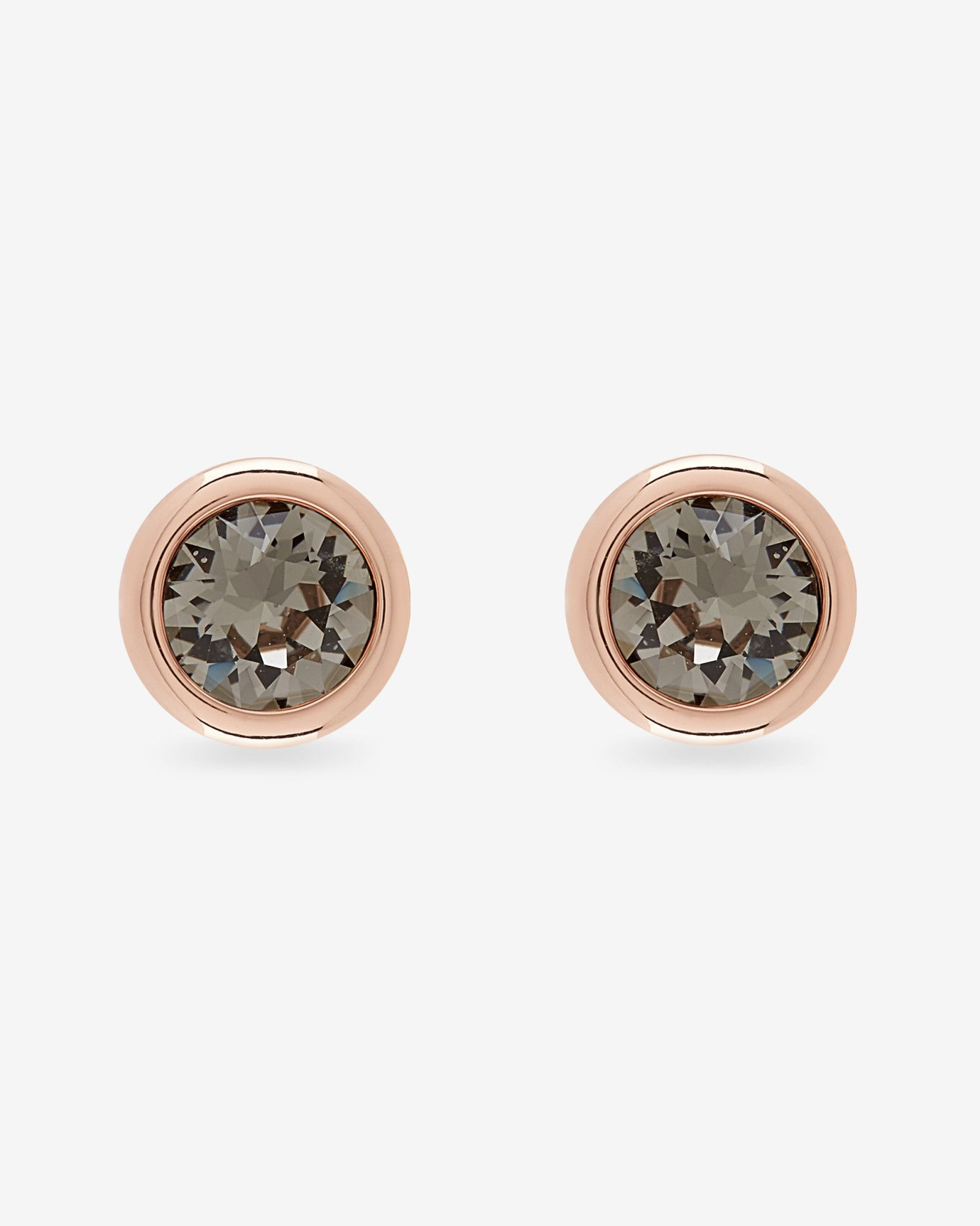 stud details harrison simon earrings shop jewellery black ella crystal at