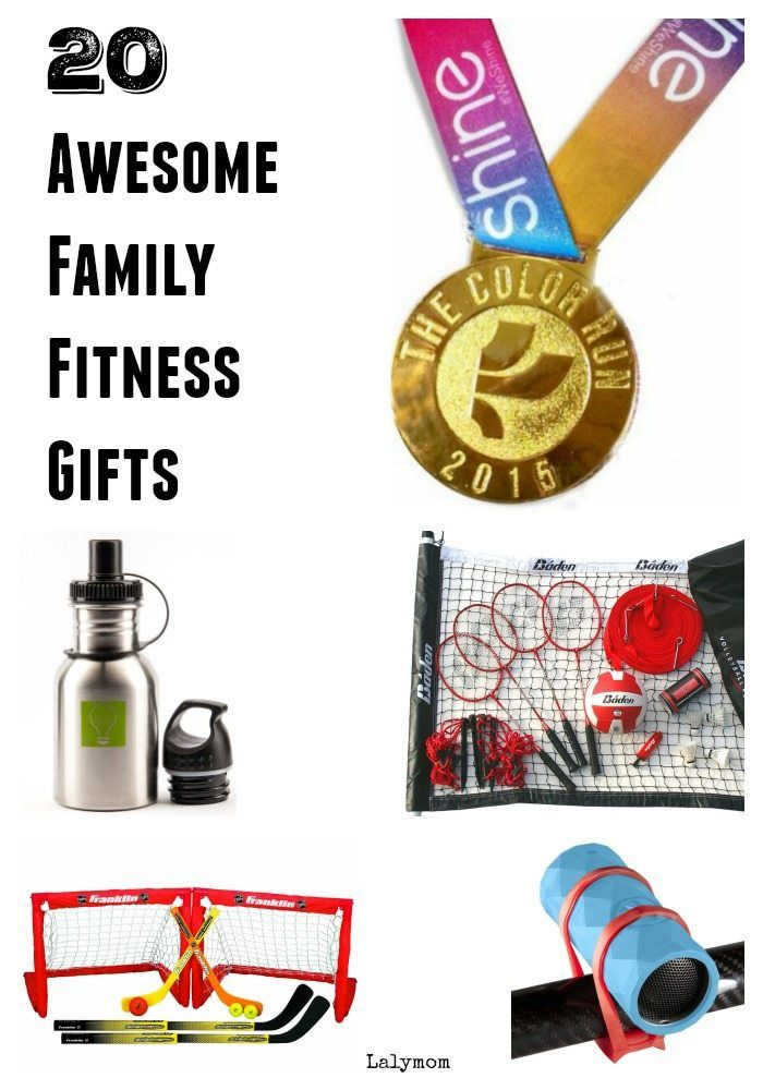 Does your family like to get active together? Here's a list of gifts for the family that loves fitne...