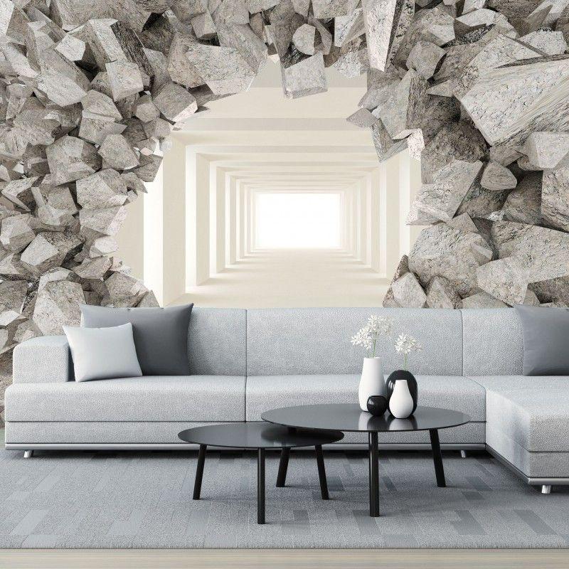 Fototapeta 3d Tunel Za Sciana Interior Design Interior Decor