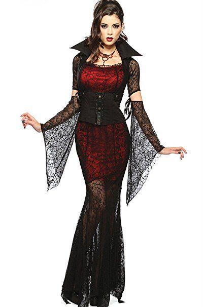 Fortuning\'s JDS Sexy Halloween Blutige Vampire Bride Hexe Spinne ...