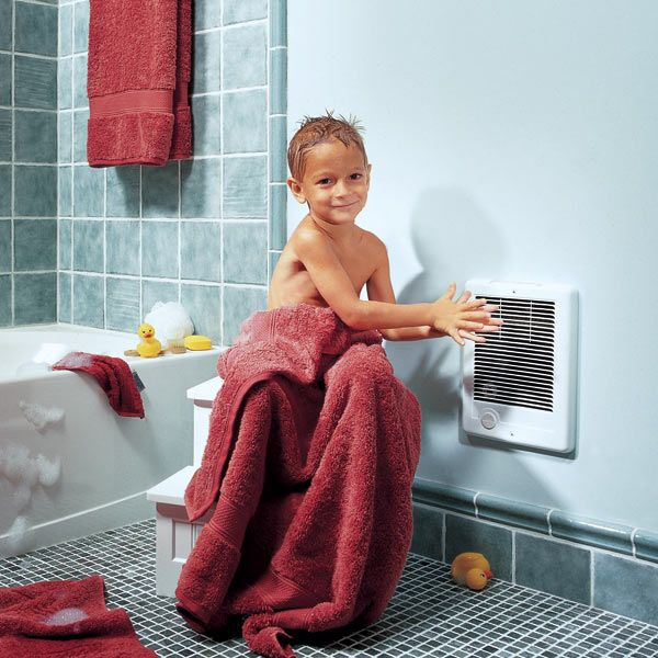 Installing Electric Heaters Electrical Repair And Wiring