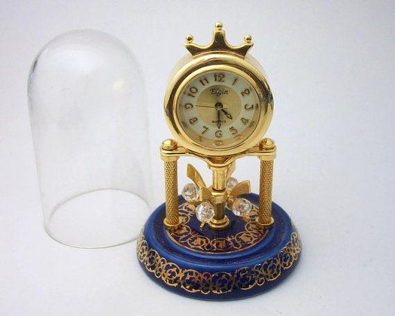 Novelty Alarm Clock Man Keyring Miniature Clock