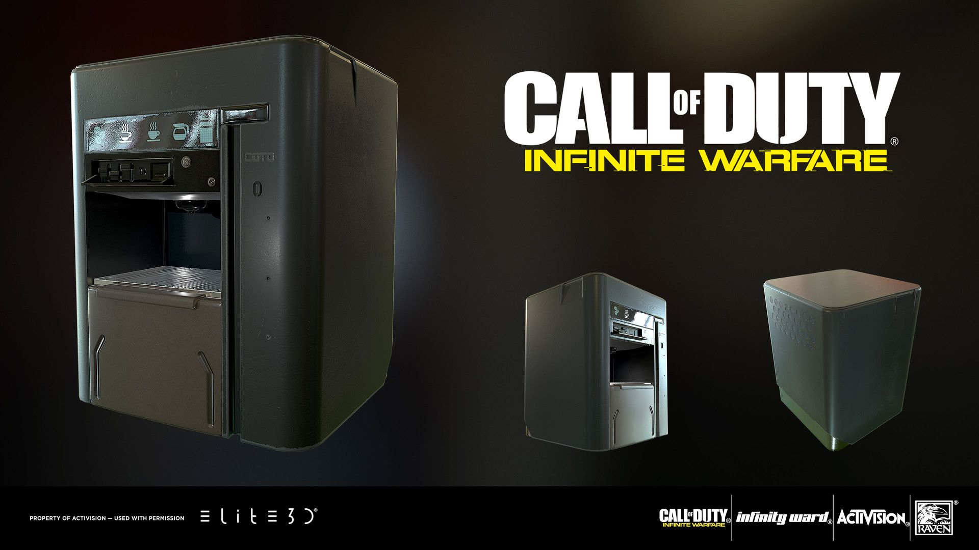 Artstation In Game Props For Call Of Duty Infinite Warfare