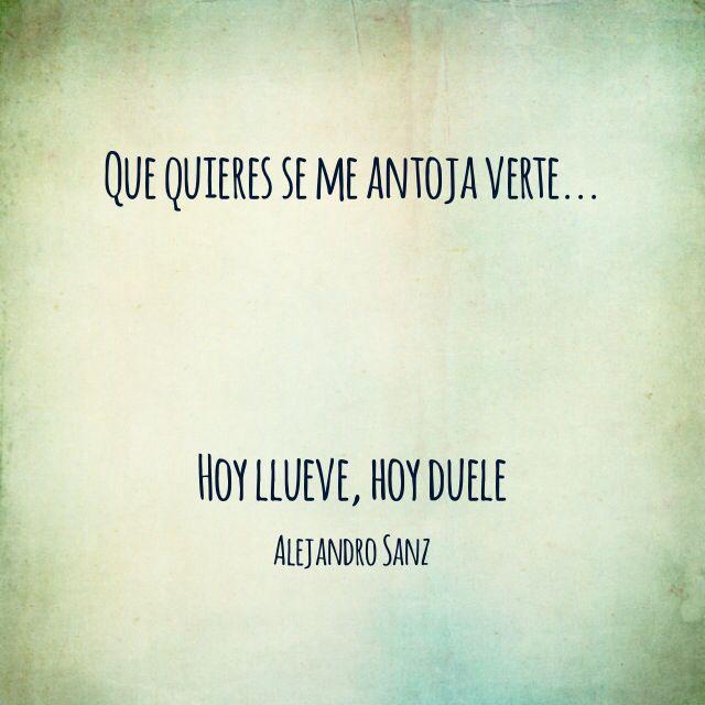 Alejandro Sanz Frases De Canciones Frases Alejandro Sanz