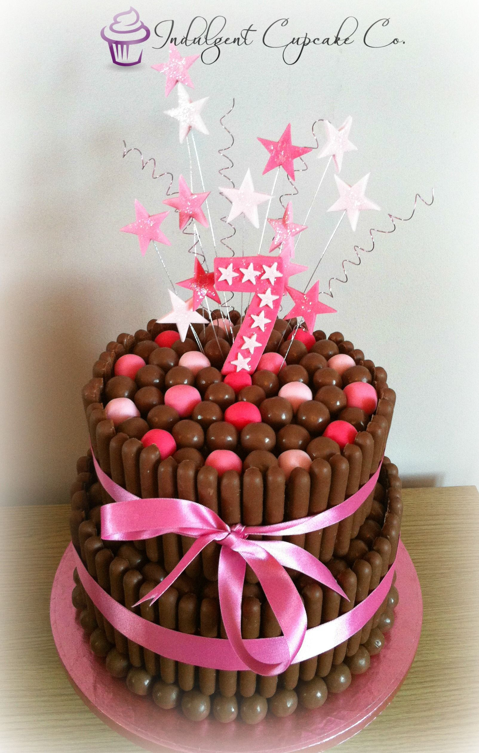 2 Tier Malteser Cake Perfect For Chocolate Lovers