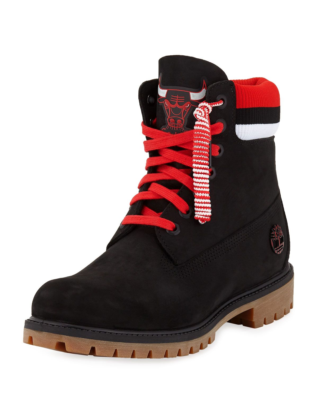 3f0b62f16b5a TIMBERLAND MEN S CHICAGO BULLS WORK BOOTS.  timberland  shoes ...