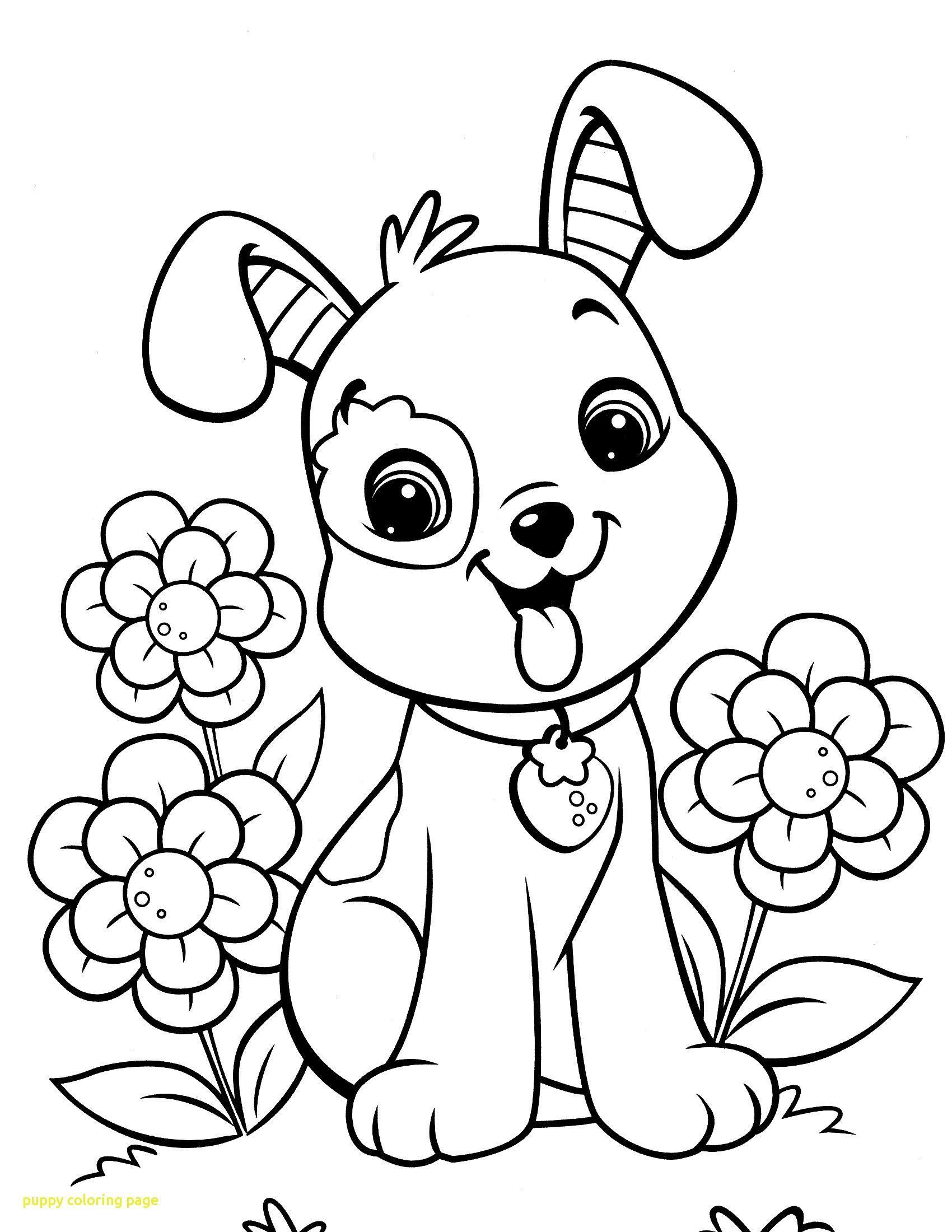 Free Puppy Coloring Pages Puppy Coloring Pages Dog Coloring Page Cat Coloring Page