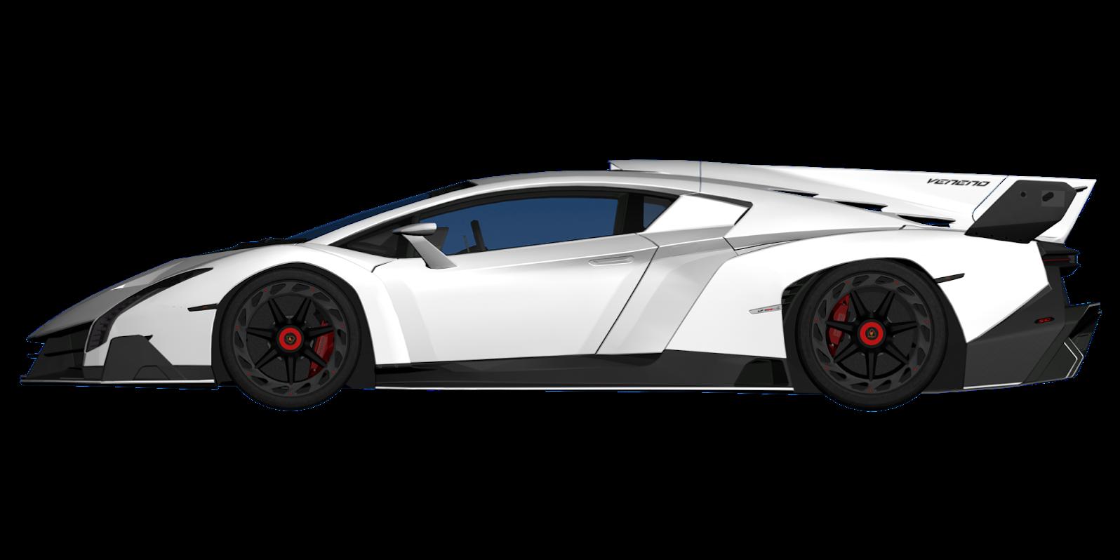 Lamborghini Veneno Blueprint