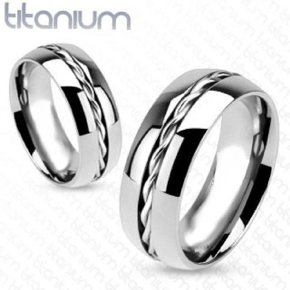 Personalized Rings Engraved Ring Titanium Rings Infinity Etsy Titanium Rings For Men Wedding Ring Bands Titanium Rings