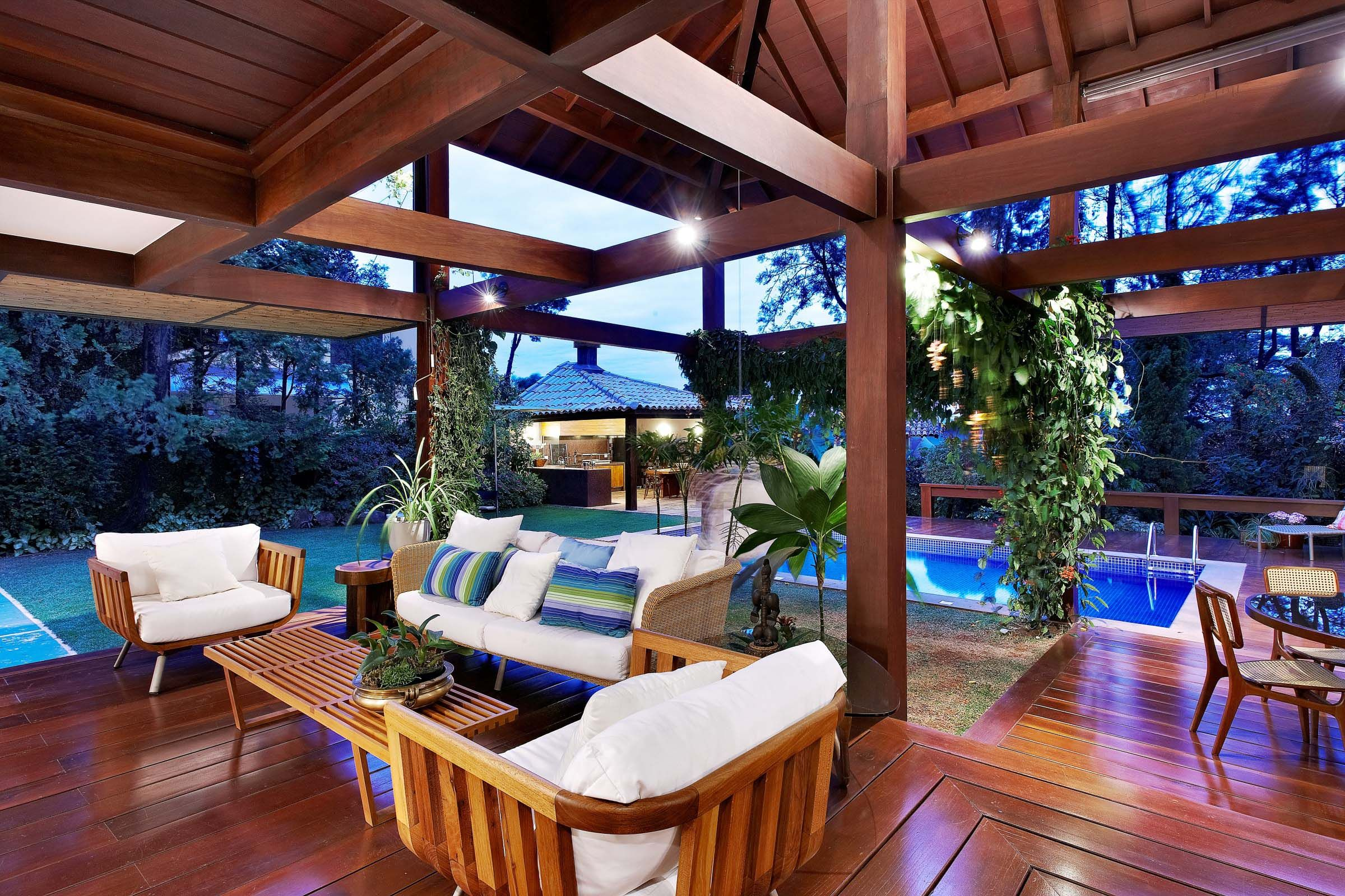 new defination of porch modern tropical house inspiration design