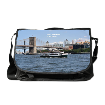89055a3e17 Cruising the East River Messenger Bag