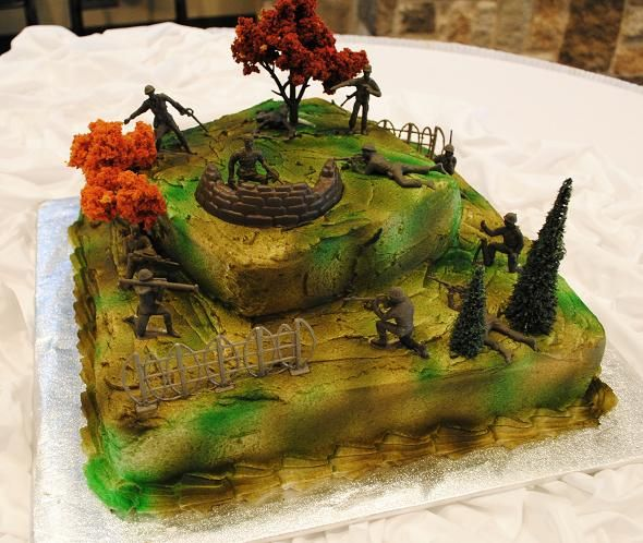 Army themed cakes jpeg army cakes for boys http for Army cake decoration
