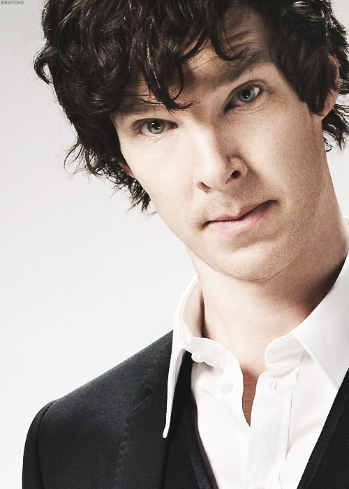 Dressed as Sherlock, but that is 489% Benedict Cumberbatch ...