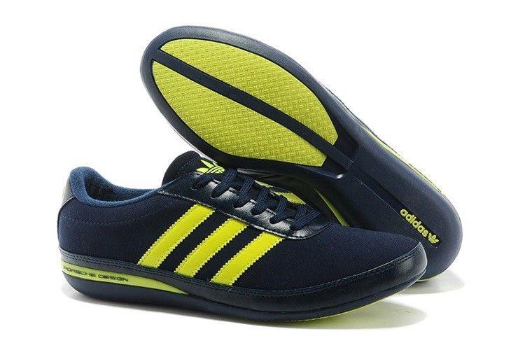 Adidas Porsche Læder Mørkblå Grøn Herre | Adidas sneakers