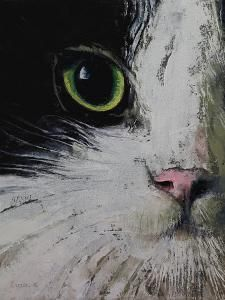 'Tuxedo Cat' Art Print – Michael Creese | Art.com