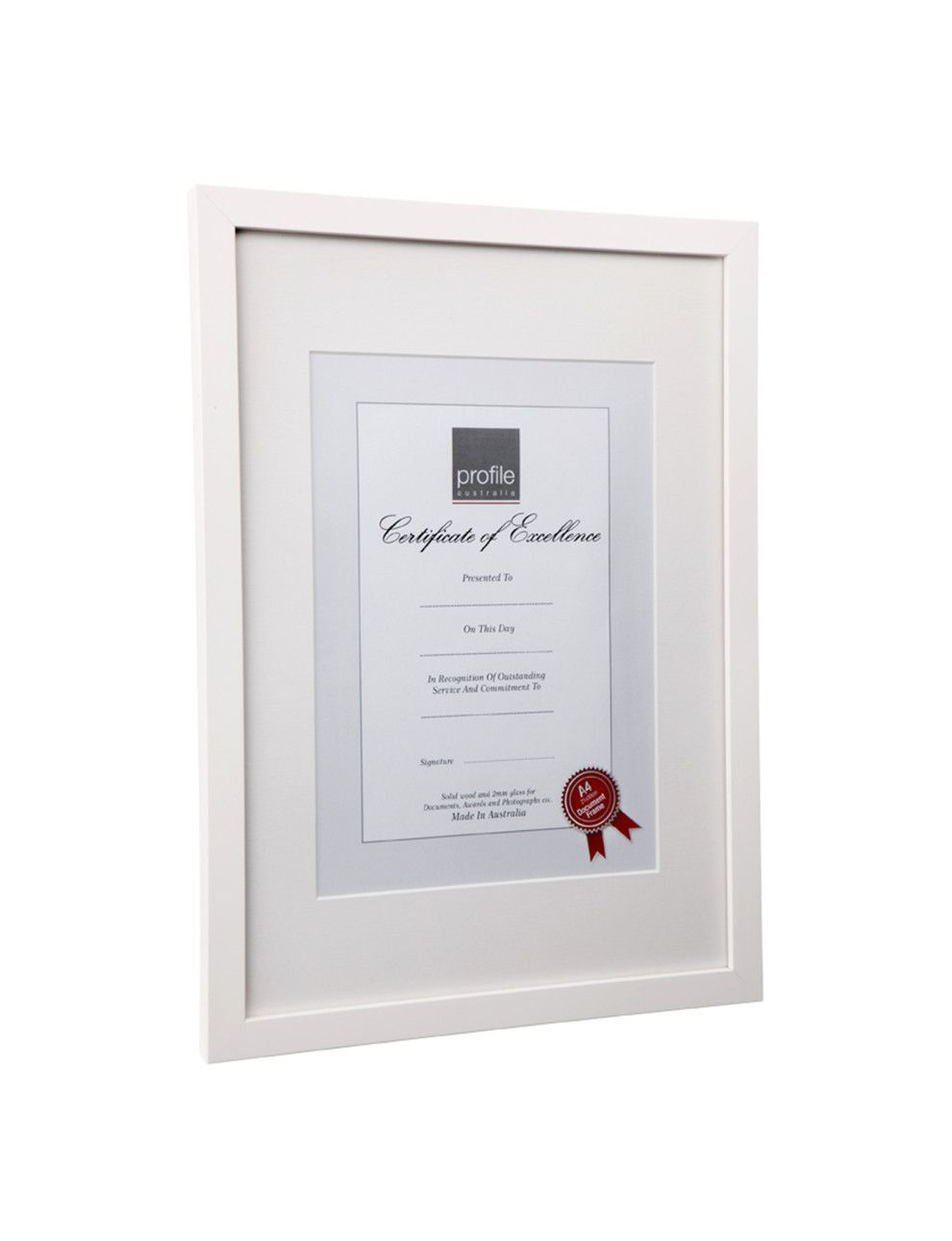 Print and Certificate Timber Photo Frame A4 matted or A3 | David ...