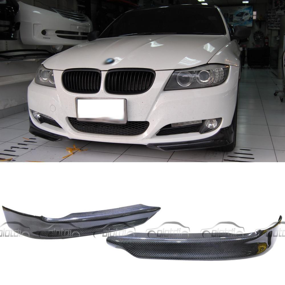 olotdi car styling front splitter pieces bumper lip corner for bmw