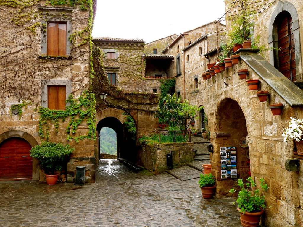 Civita Di Bagnoregio Ancient Endangered Hill Town In Italy