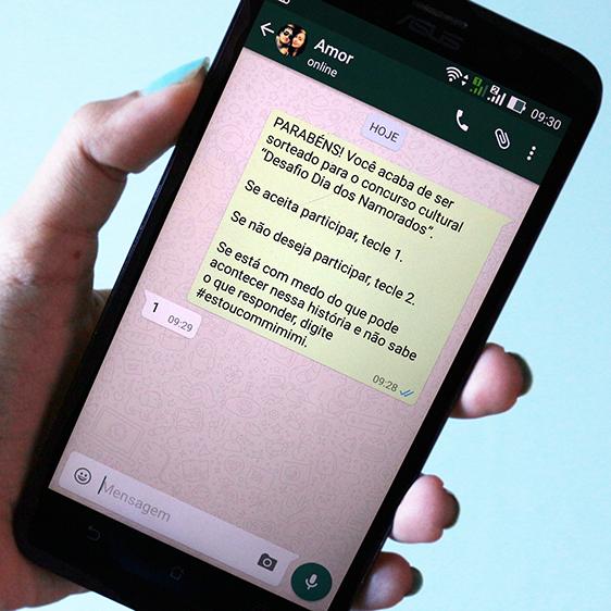 Desafio Via Mensagens De Celular Para Aniversário De Namoro Diy De