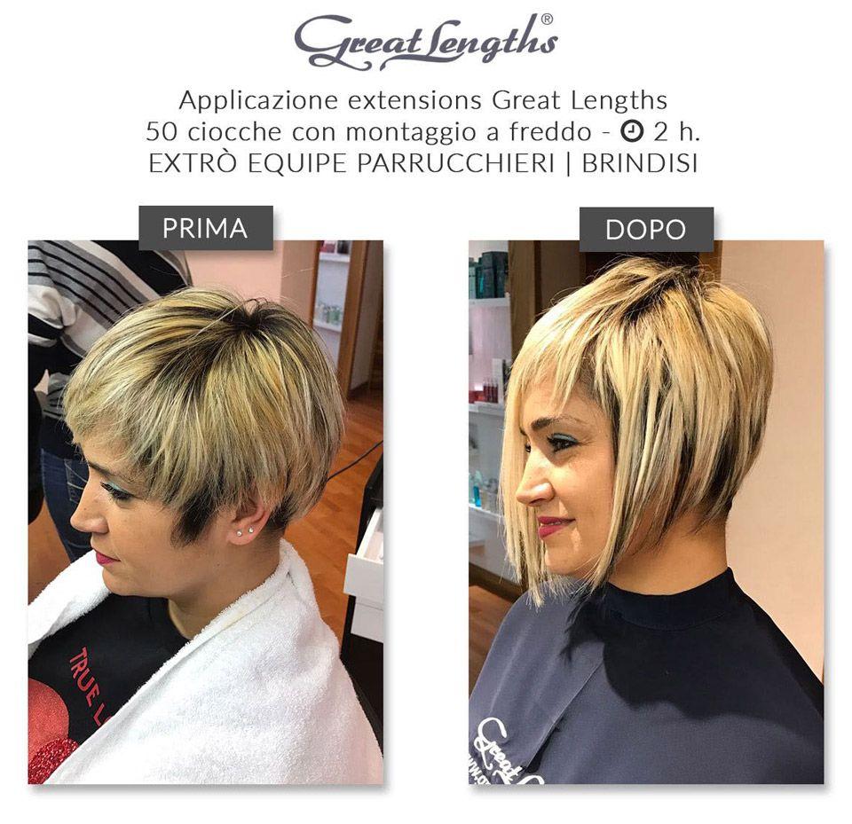 Extension capelli per alopecia