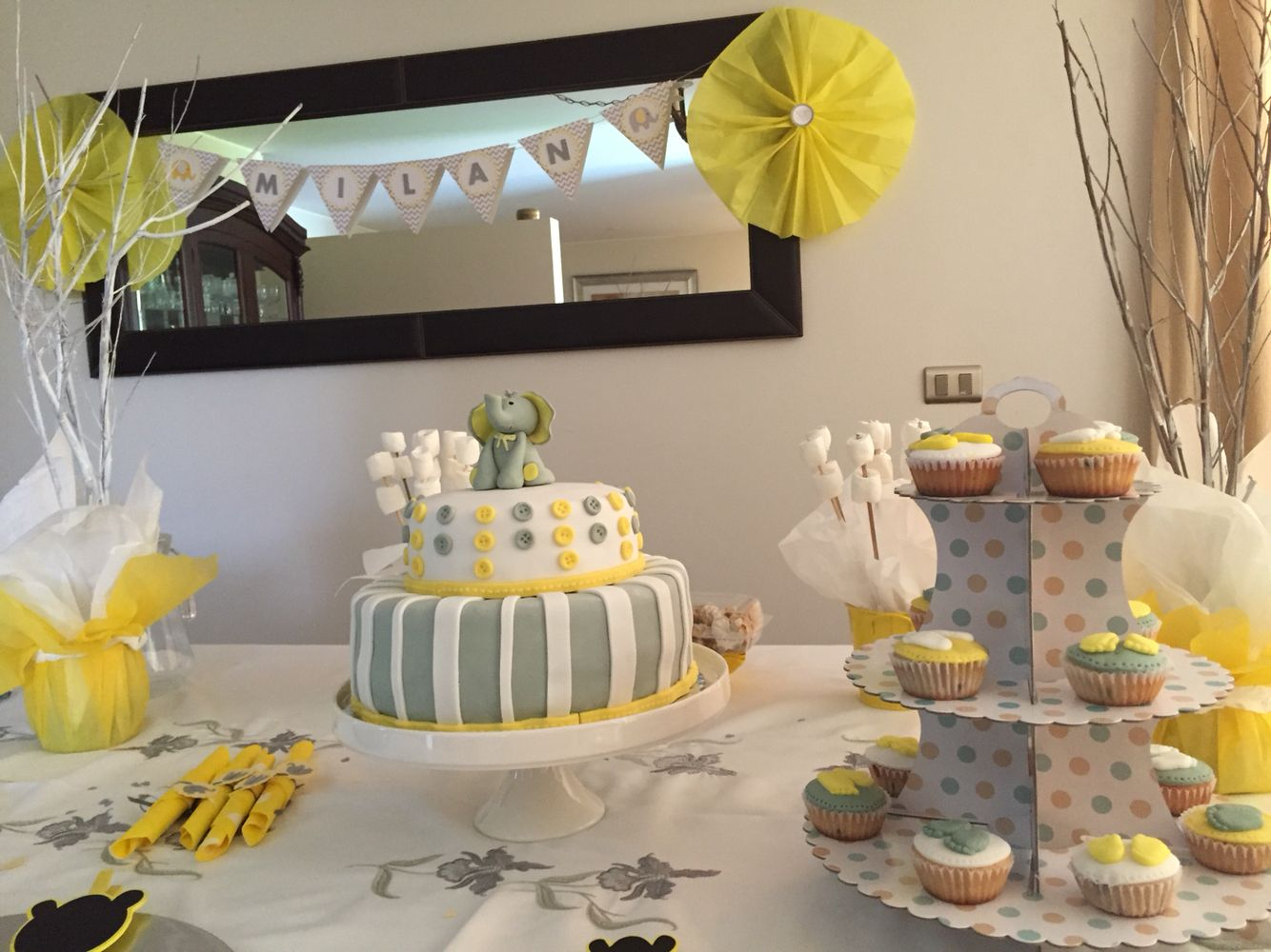 Babyshower fiesta infantil ideas fiesta torta for Decoracion casa shower